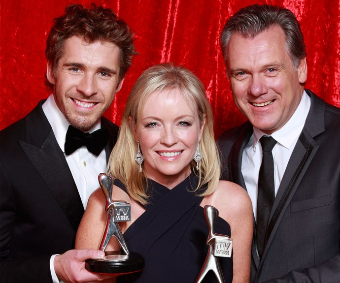 PACKED TO THE RAFTERS: The gang cleaned up at the 2012 TV WEEK Logie Awards.