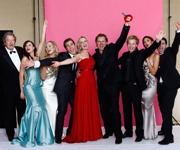 **PACKED TO THE RAFTERS:** *Packed To The Rafters* won the Logie for Best Drama Program in 2009.