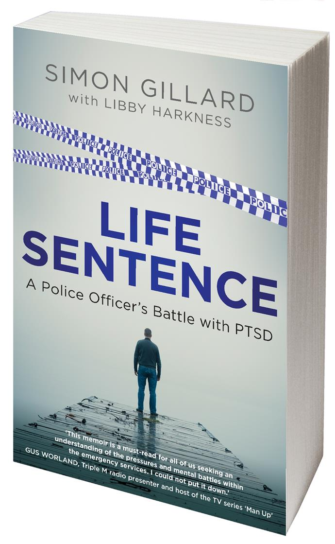 Simon has chosen to tell his story in his new book *Life Sentence* to highlight the issue of post-traumatic stress disorder (PTSD) among our emergency services.