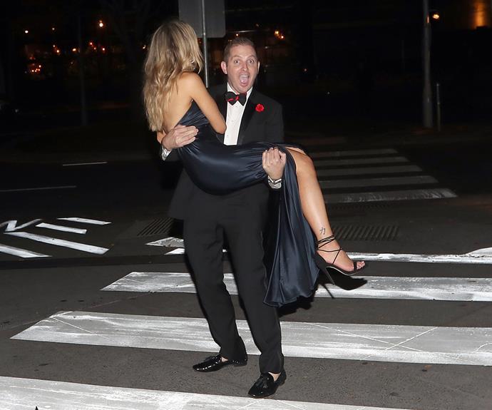 John carries his queen.