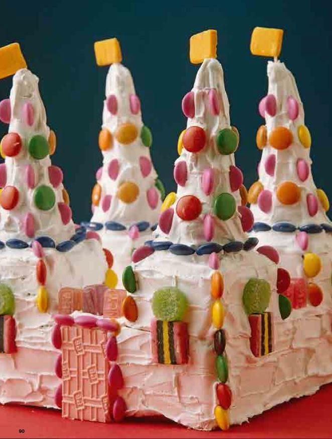 **6.** Candy castle