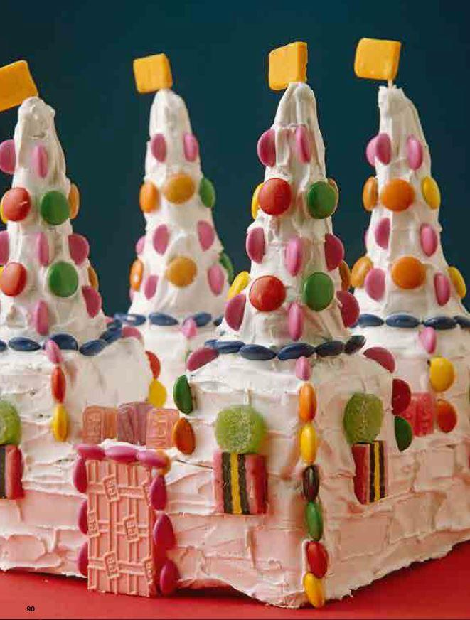 **6.** Candy castle