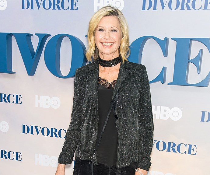 "Olivia Newton-John says music therapy has been a ""healer"" for her."