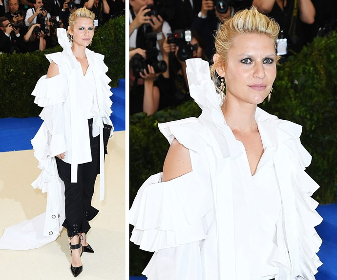 Claire Danes channels her inner rock goddess.