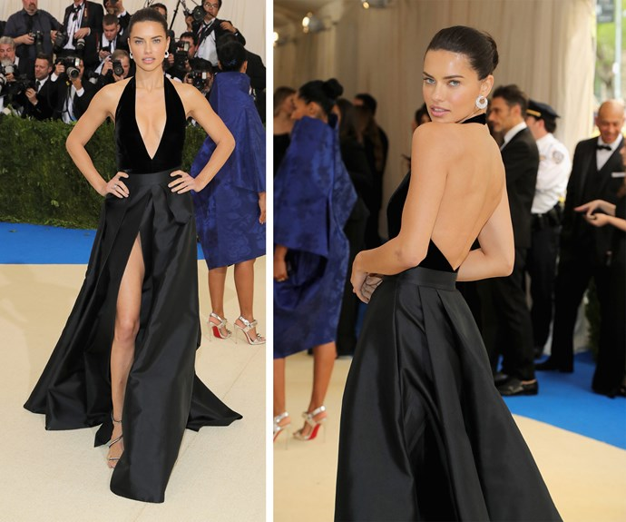 Adriana Lima is the epitome of the fire emoji.
