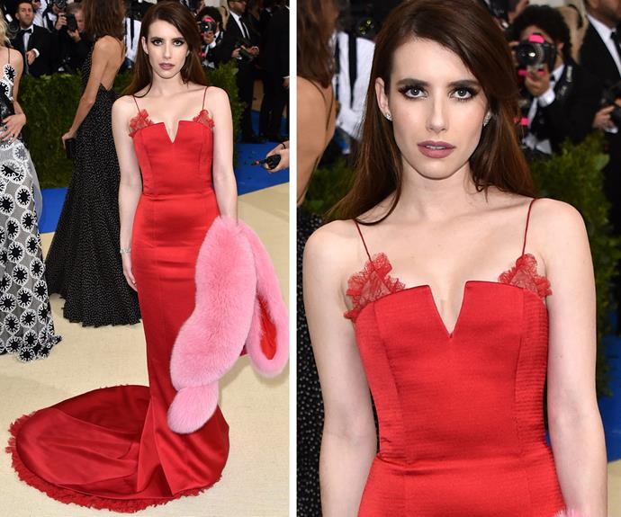 OK Emma Roberts, you look seriously smoking.