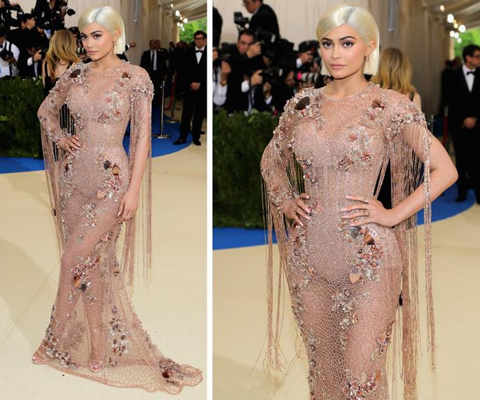 Kylie Jenner channels her best Kim.