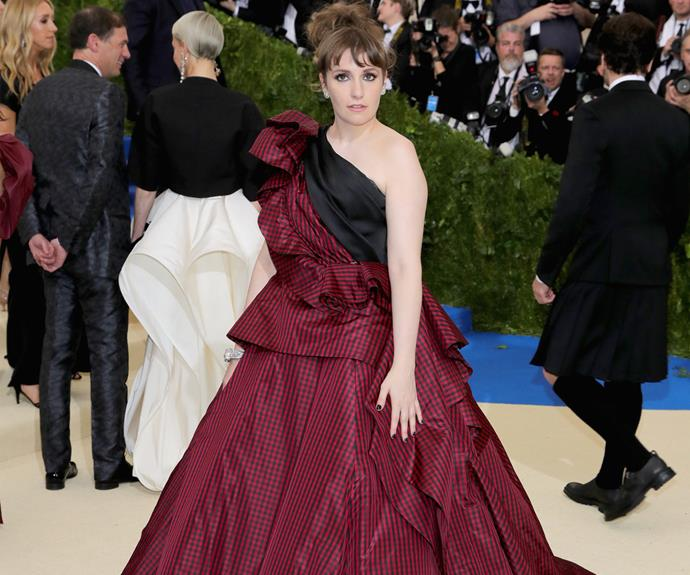 Lena Dunham is a Scottish dream...