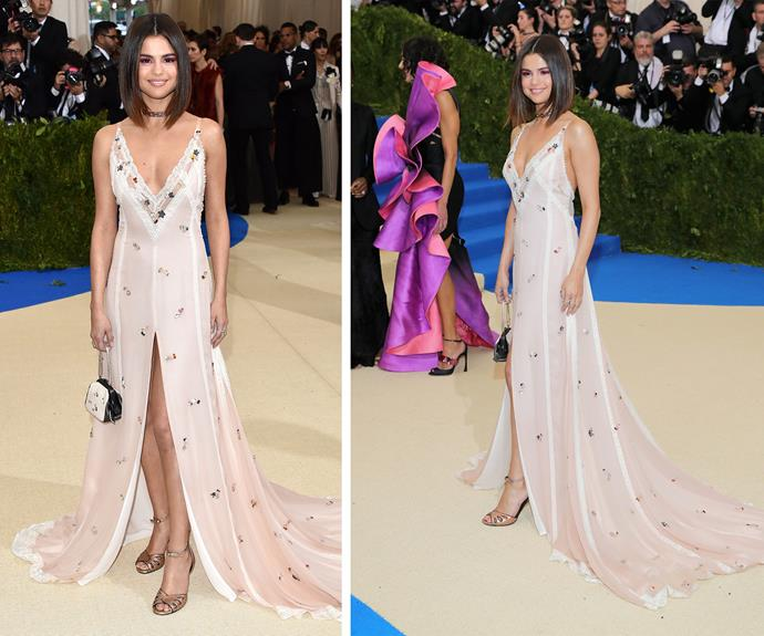 Sleek locks, a dreamy dress and the look of love - Selena Gomez knows how to slay the red carpet.