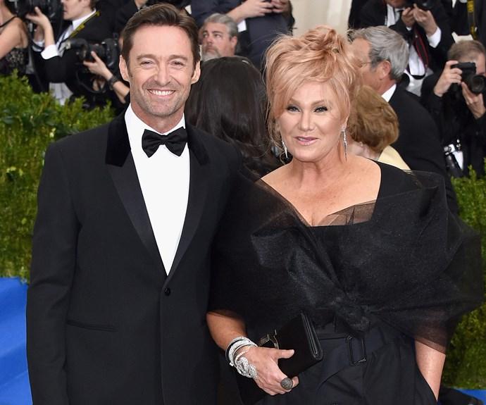 It's date night for Australia's golden couple, Hugh Jackman and Deborra-Lee Furness.