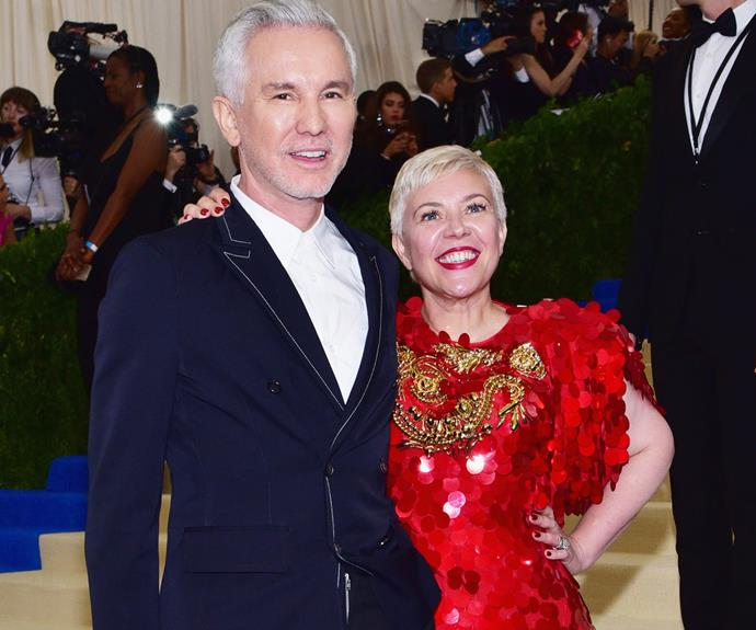 Silver screen power couple Baz Luhrmann and his wife Catherine Martin.