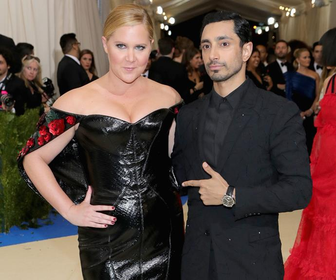 The BFFs we didn't know we needed in our life - Amy Schumer and Riz Ahmed.