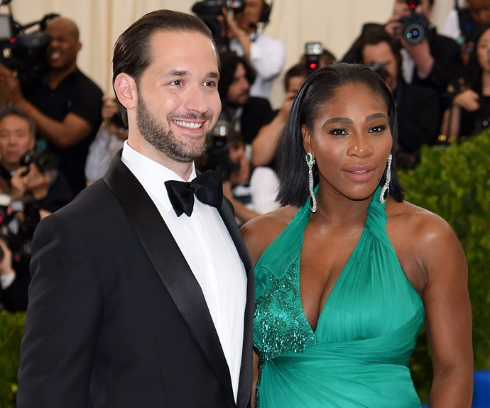 She attended the event with her fiance, Reddit cofounder Alexis Ohanian.