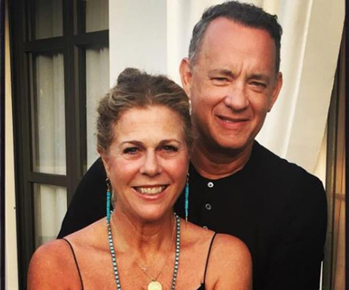 "Tom Hanks and Rita Wilson's love only gets stronger as time goes by! Taking to Instagram to commemorate their incredibly impressive 29-year wedding anniversary (that's practically a million years by Hollywood standards), Rita shared this sweet pic and penned: ""29 years of marriage! Thank you, God, for bringing me this man."""