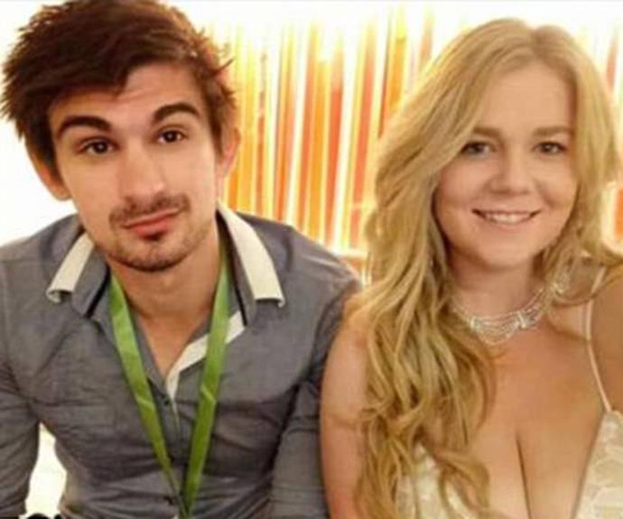 Cassie with fiancé Scott Broadbridge. Source: Facebook.