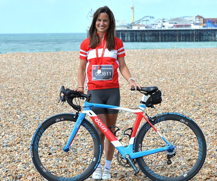 Did we mention Pippa Middleton loves cycling, too?