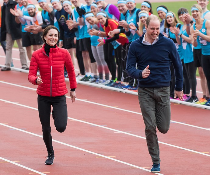 Nothing is slowing down ex-RAF pilot Prince William!