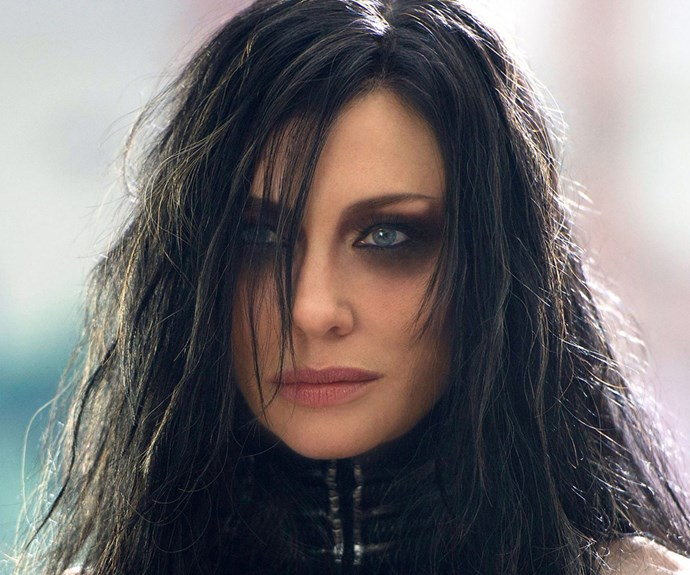 The 47-year-old is also going for a drastic new look as she gears up to be the new villain Hela in the *Thor* film, opposite Chris Hemsworth.