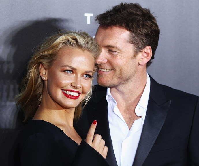 Lara and her actor husband Sam tied the knot back in 2014.