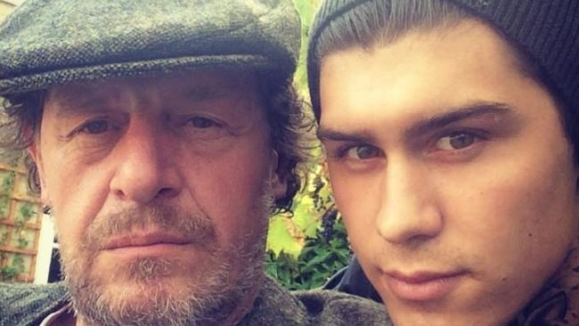 Marco Pierre White with his son, Marco Pierre White Jr.