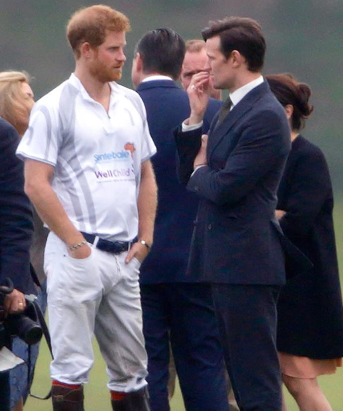 Matt, there's an opening for a new fulltime Prince Philip... **(Images/The Mega Agency and Getty)**