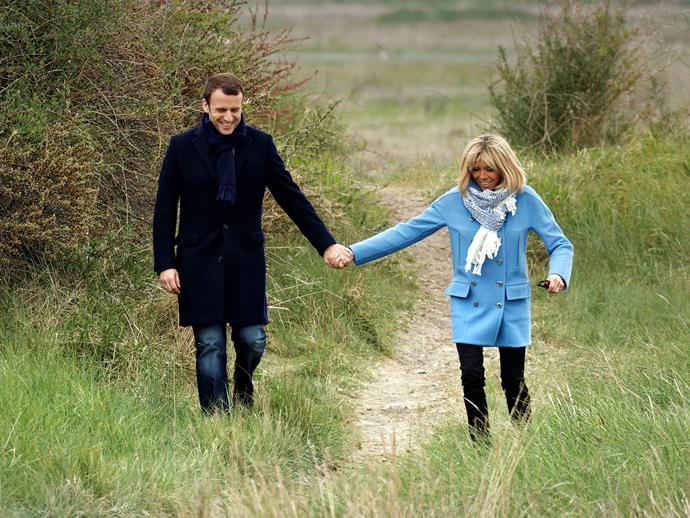 """As has been widely reported, Brigitte Trogneux met Emmanuel Macron when he was 15 and she was his drama teacher.   """"He wasn't like the others,"""" Trogneux said. """"He wasn't a teenager. He had a relationship of equals with other adults.""""  """"I didn't think it would go very far …. I thought he would get bored. We wrote, and little by little I was totally overcome by the intelligence of this boy."""""""