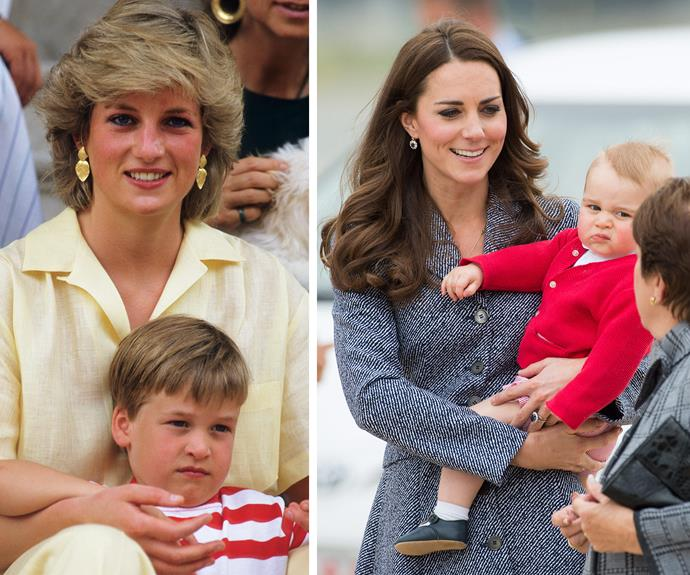 Royal mums in the spotlight know you need to get on with the show... Even when your bub doesn't want to.