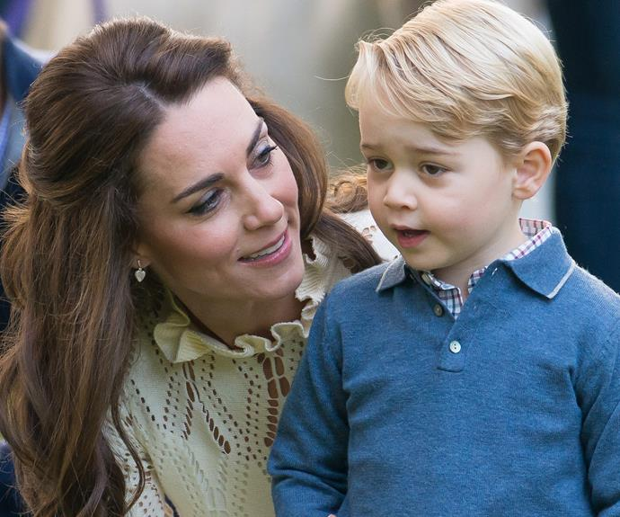 A year ago, we got to see Catherine in mum mode with her kids during their Canada tour.