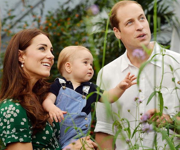 And from everything we've seen with the Cambridges, Kate is doing the exact same thing with her kids.