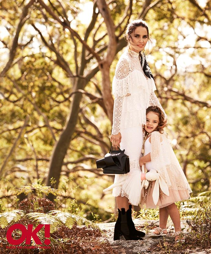 The darling mother-daughter duo stunned during their photoshoot.