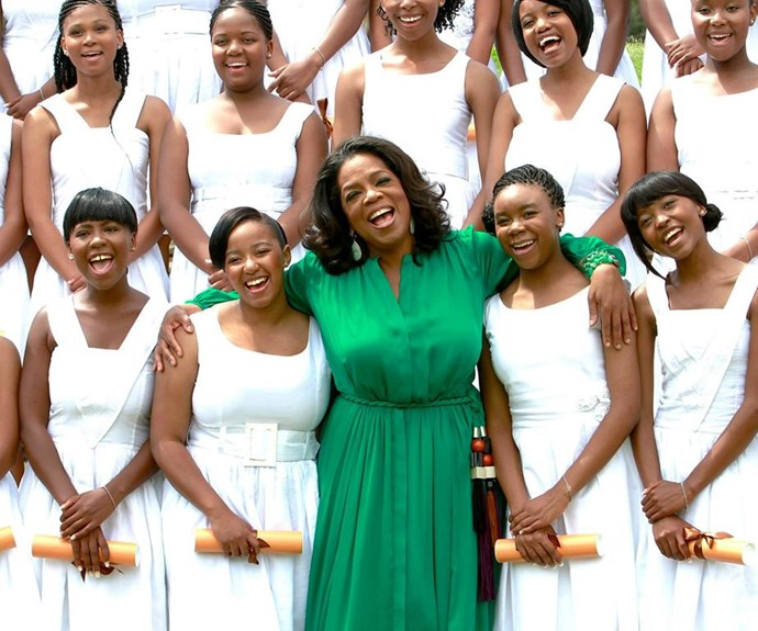 Oprah is synonymous with philanthropy. The talk-show deity has founded three of her own charities as well as supporting countless others, including ovarian cancer and research. On top of that, Oprah's will pledges to donate 1 billion dollars to charity when she passes away.