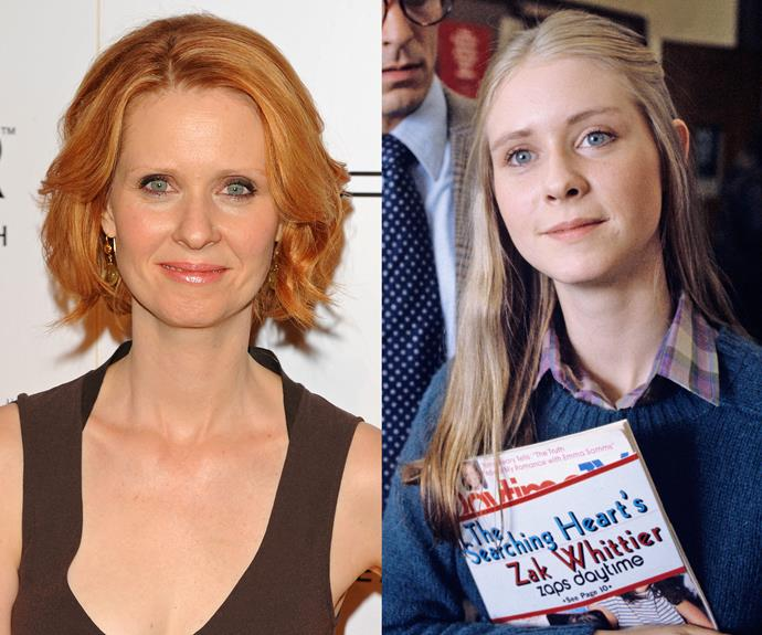 **Cynthia Nixon.** She played fiery Miranda on *Sex and the City* but the actress ditched her flame-haired hue after the series ended, returning to her (blonde) roots. Rev up your red at home with [Clairol Nice 'n Easy Permanent Colour in Natural Golden Auburn](https://www.clairol.com/en-AU/products/hair-color/product/nice-n-easy).