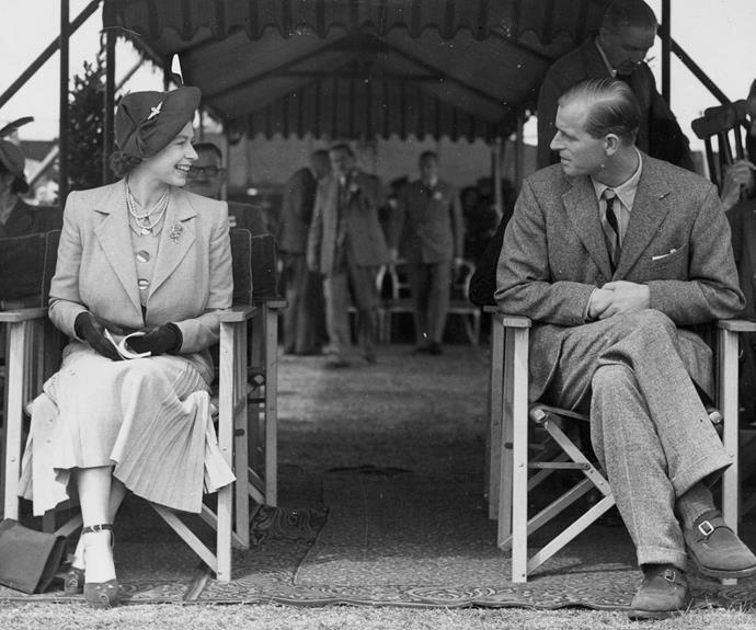 The royal couple, pictured in 1949, have been attending the event for over 74 years.