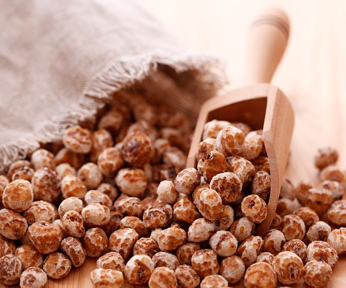 Don't be deceived by their name; tigernuts are, in fact, part of the root vegetable family.