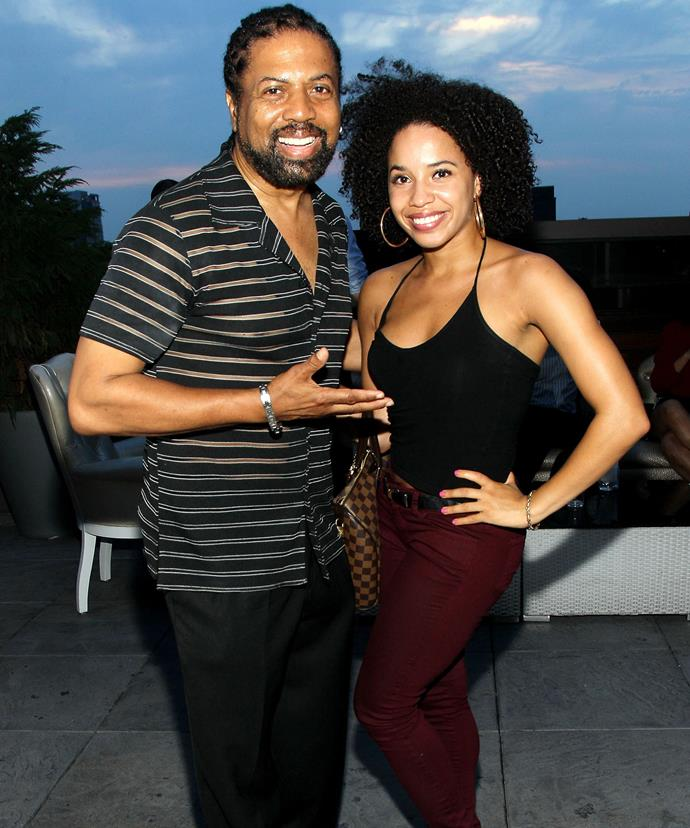 "Ray and his daughter, choreographer Alayna Simpson. ""I enjoy her career,"" Ray says."