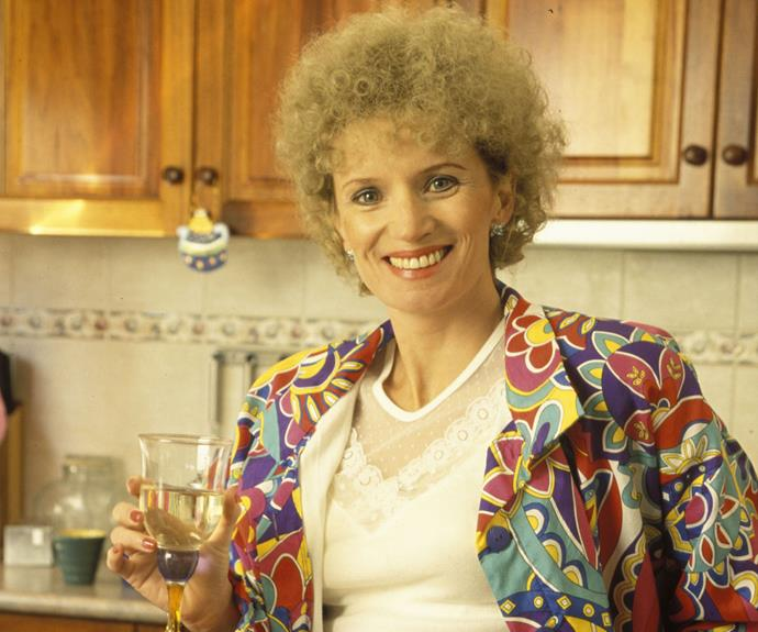 ***Kath & Kim* – Kath Day-Knight (Jane Turner)** Who wouldn't want a strong and foxy mother like Kath?! Her confident demeanour and signature flamboyant style made her fabulous – even if Kim (Gina Riley) didn't always appreciate it!