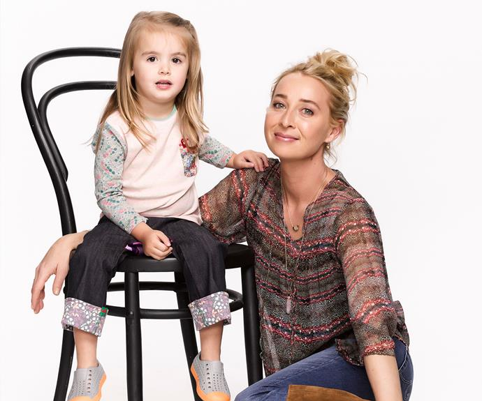 ***Offspring* - Nina Proudman (Asher Keddie)** Dr Nina Proudman lost her partner Patrick (Matt LeNevez) while she was heavily pregnant. Despite her trauma, Nina soldiered on to be the best mum for her little girl, Zoe!