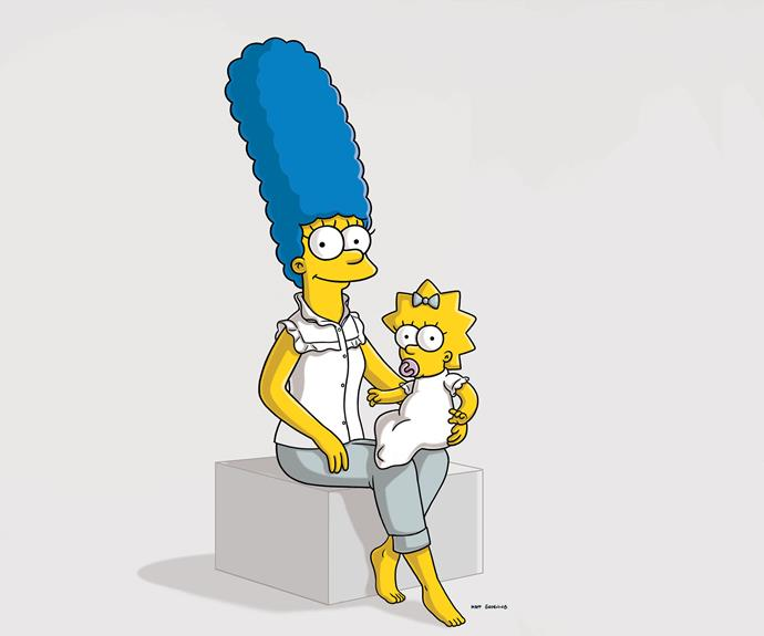 ***The Simpsons* - Marge Simpson (Voiced by Julie Kavner)** She may only exist in animation form, but Marge is one patient mother! She deserves saint status for keeping her sanity (and blue bouffant) intact - despite Homer's antics.