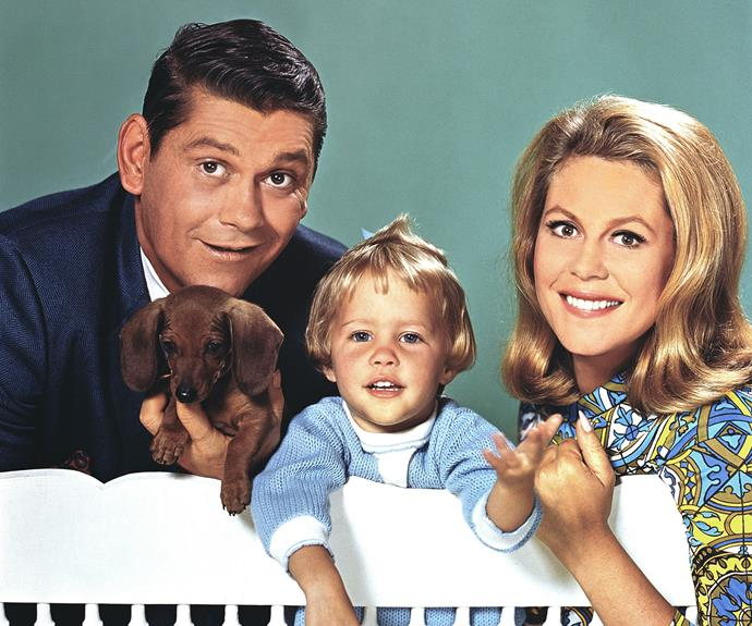 ***Bewitched* - Samantha Stephens (Elizabeth Montgomery)** She seems like a normal mother and housewife – but what makes Samantha different is she's a witch! Any wish can be granted with just a twitch of Samantha's nose!