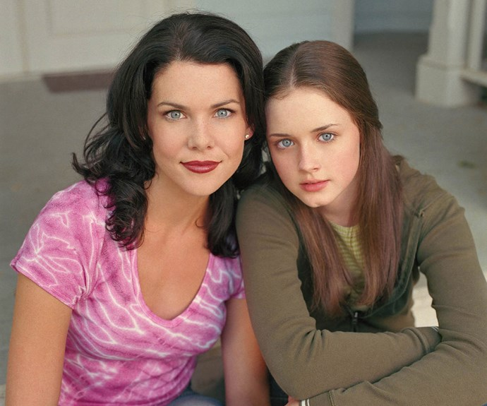 ***Gilmore Girls*- Lorelai Gilmore (Lauren Graham)** Lorelai's tight mother-daughter relationship with Rory (Alexis Bledel) was more akin to best friends. These two bonded over their passion for all things pop-culture - and talking really fast!