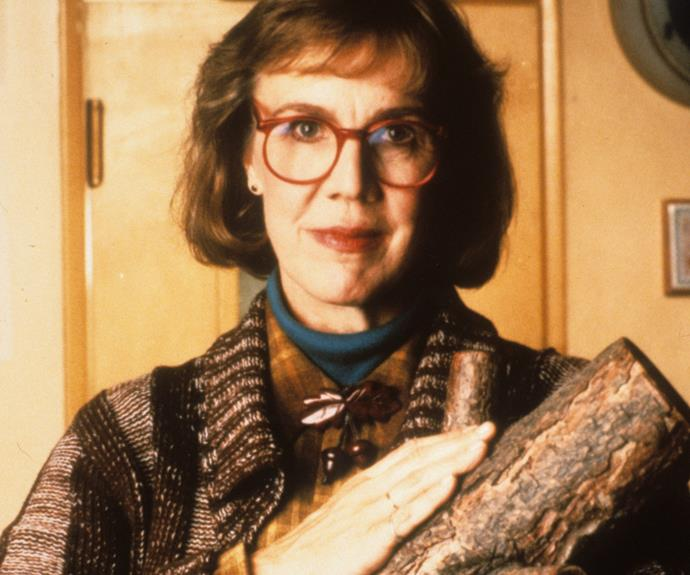 **The Log Lady:** Not since Ren & Stimpy's line in faux advertising has an inanimate lump of wood been given so much primetime screen time. Omnipresent Margaret Lanterman (played by Catherine E Coulson) is seen by many of inhabitants of Twin Peaks as the crazy woman in town. No mean feat considering who else lives there. She wanders around town, a log cradled in her arms, offering sage counsel to anyone who will listen. That advice is from her log with whom she is psychically linked. Like a Lynchian Lorax, she speaks for the log. Her proclamations a delightfully kooky conduit for Lynch's askew view of the world.