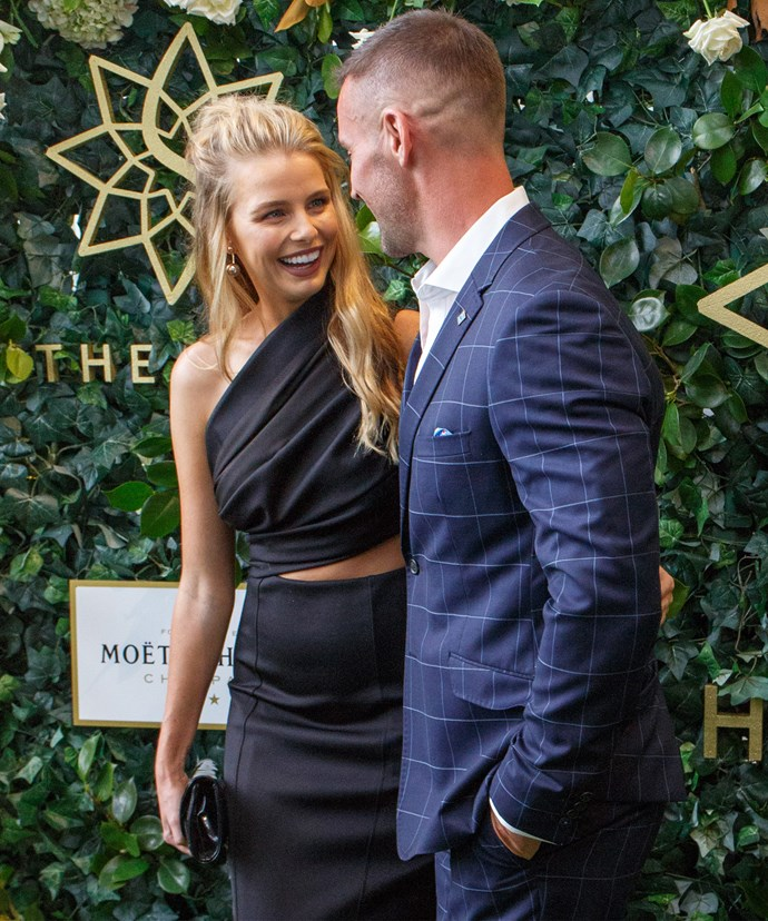 The pair both attended a glitzy luncheon for Doncaster Mile earlier this year.