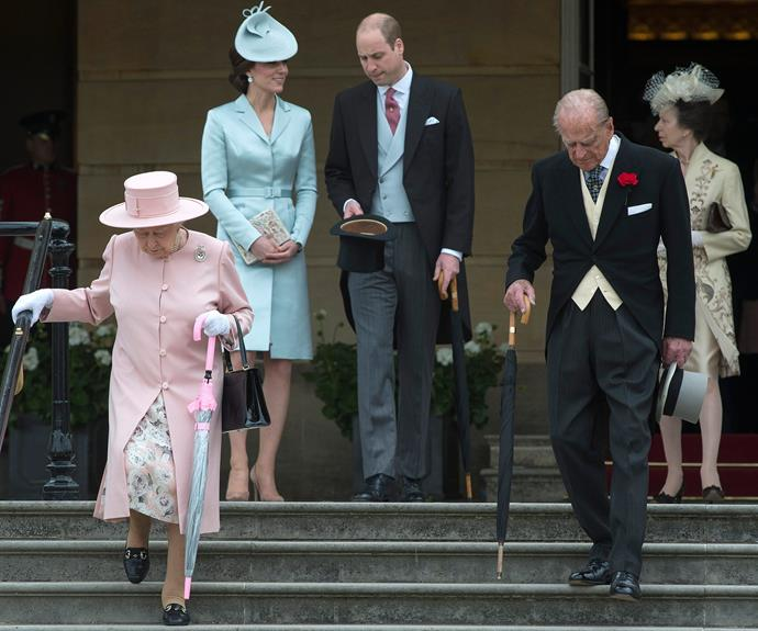 The royals were in full force for the year's very first Garden Party, hosted by the Queen herself!