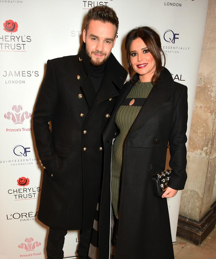 Liam and Cheryl stepped out together only a handful of times in the months leading up to Bear's birth.