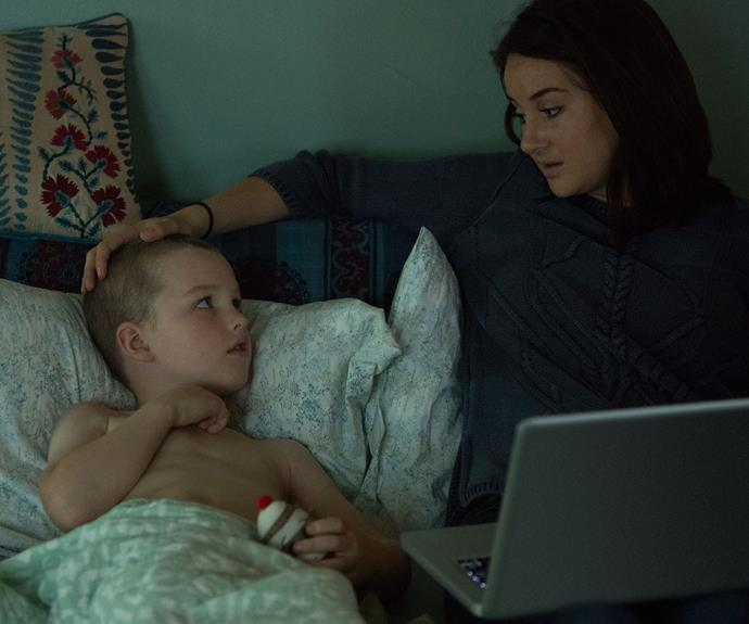 Iain in *Big Little Lies* with Shailene Woodley.