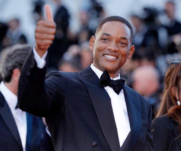 Will Smith literally never changes. Dapper as always!
