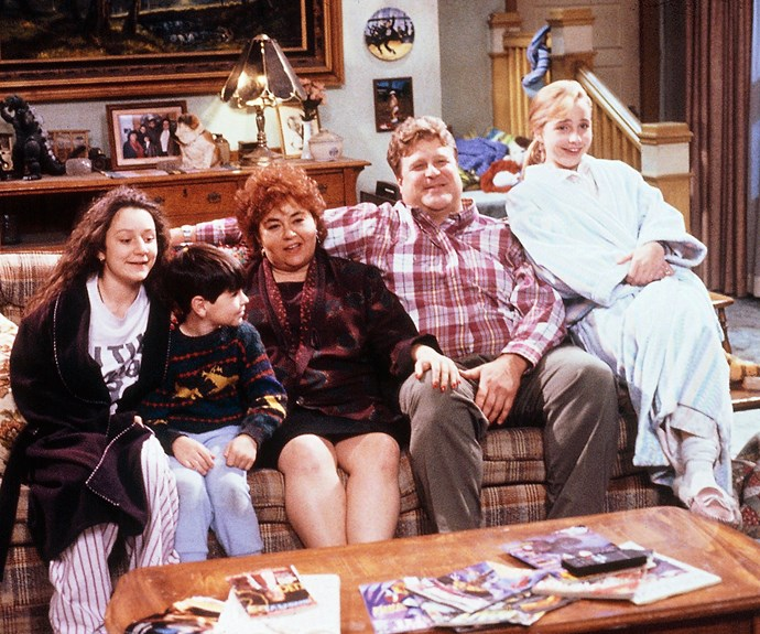 """**White Men Can't Kiss: (Season 7, episode 9)**   DJ (Michael Fishman) complains about having to kiss a girl called Gina for a school play. Roseanne meets with his teacher to sort out the problem. It's revealed that DJ doesn't want to kiss Gina as she is African-American. Later in the episode both Dan and Roseanne are confronted by her their own bigotry. Dan is worried that his past behaviour may have influenced DJ's prejudice. Roseanne refuses to let a man into the Lunchbox late at night; she only relents when the man explains he is Gina's father. Roseanne Barr later told [*Entertainment Weekly*](http://ew.com/article/2008/10/24/roseannes-top-five-episodes/ 