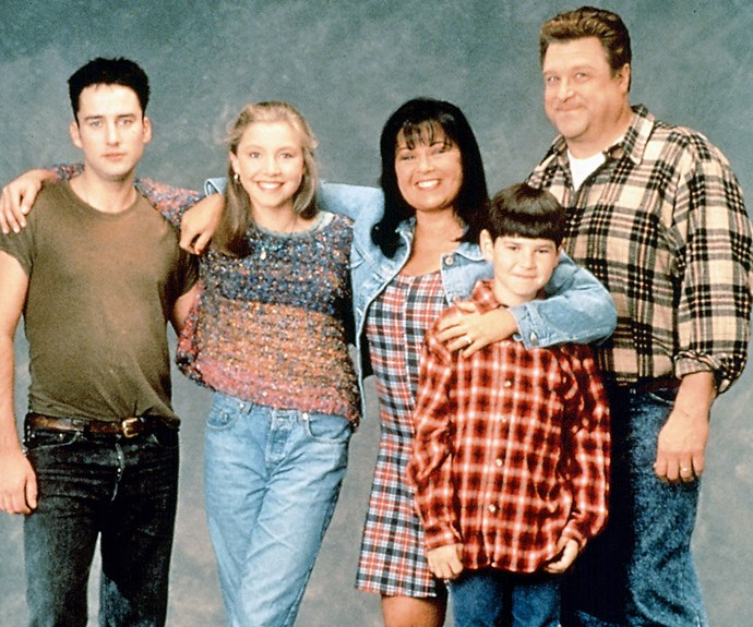 **A Bitter Pill to Swallow: (Season 4, episode 1)**  At the start of season four, Becky (played by both Lecy Goranson and Sarah Chalke) comes to Roseanne asking for birth control. Dan (John Goodman) and Roseanne struggle with the knowledge that their teenage daughter has already had sex with her boyfriend Mark.  Becky later elopes with Mark, when she is still a teenager, driving a wedge between her and her parents.