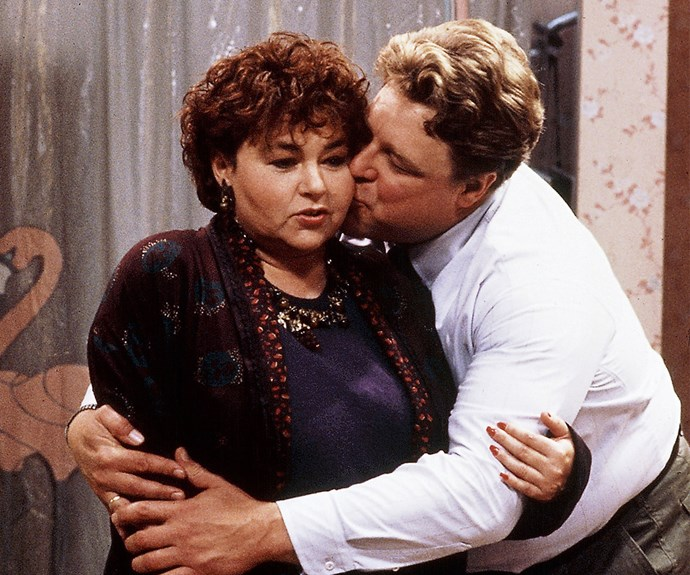 """**Maybe Baby: (Season 7, episode 11)**  Roseanne and Dan are anxious about their pregnancy and believe there could be something wrong with the baby. They discuss having an abortion, and over the two-episode arc, most characters on the show share their two cents worth on the topic. Openly discussing abortion on a family sitcom was a bold move at the time. In a conversation between Jackie and Roseanne the two women explicitly discuss a woman's right to choose. """"I'm sure he knows it's your decision. I mean, he must respect your right to choose,"""" Jackie says."""