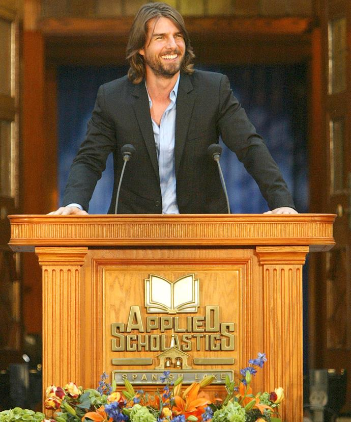 It's no secret Scientology leaders lean on celeb figureheads like Tom Cruise to promote the church.